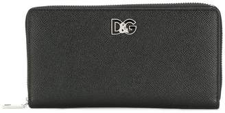 Dolce & Gabbana zip-around wallet
