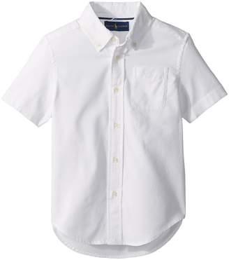 Polo Ralph Lauren Performance Oxford Shirt Boy's Clothing