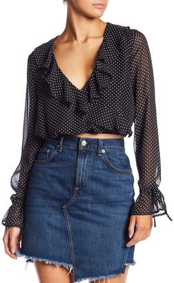 Honeybelle Honey Belle Polka Dot Crop Top
