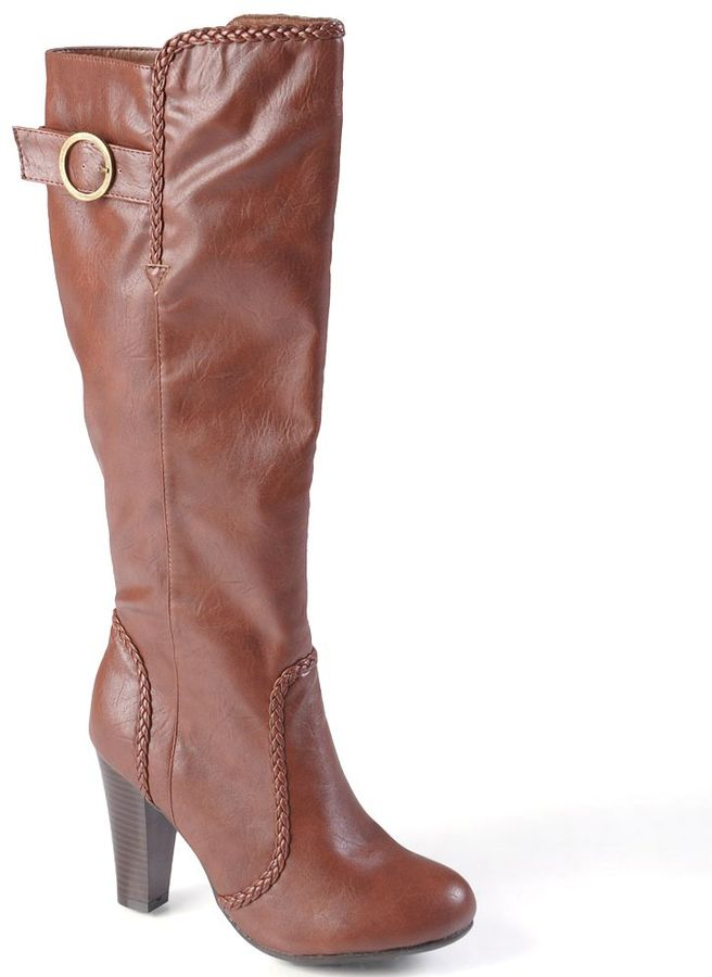 Journee Collection kenna tall boots - women