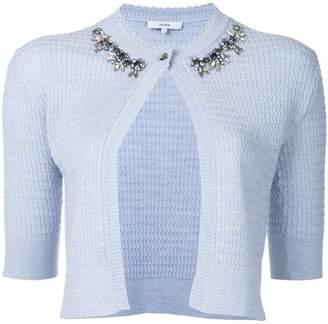 Erdem embellished collar cardigan