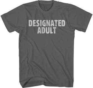 NOVELTY PROMOTIONAL Designated Adult Graphic Tee