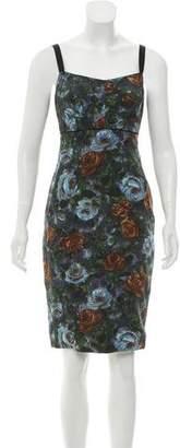 Dolce & Gabbana Printed Silk Dress