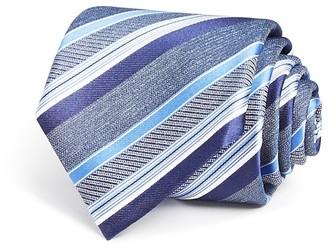 Canali Multi Scale Stripe Classic Tie $160 thestylecure.com