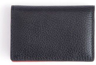 Royce Leather Royce New York Pebbled Leather Credit Card Case