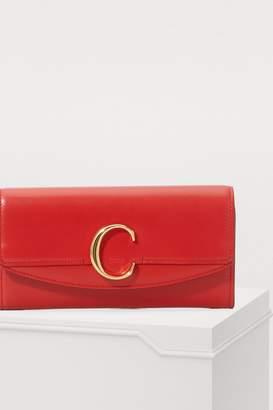 Chloé C long wallet