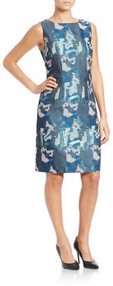 Chetta B Brushstroke Sheath Dress $138 thestylecure.com