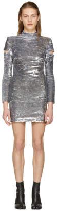 Helmut Lang Silver Disco Dress