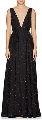 Azeeza Women's Embellished Wrap Gown - Black
