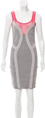 Yigal Azrouel Cut25 by Knit Mini Dress