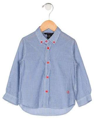 Little Marc Jacobs Boys' Striped Button-Up Shirt