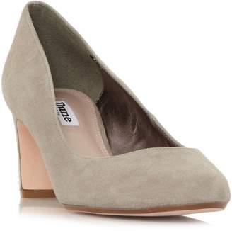 Dune Addena Mid Block Heel Court Shoes