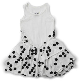Nununu Braille Layered Dress