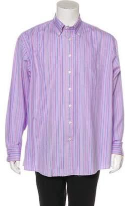 Burberry Striped Woven Shirt