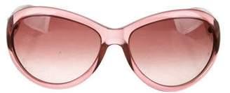 Saint Laurent Oversize Round Sunglasses
