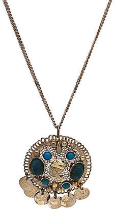 One Kings Lane Vintage Egyptian Scarab Pendant Necklace - Thanks for the Memories