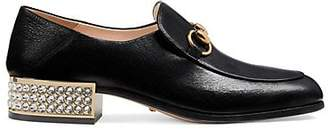 Gucci Women's Leather Loafers - Black