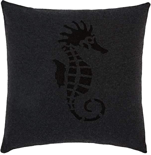 Rani Arabella Glitter-Seahorse Cashmere Pillow