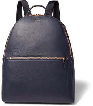 Smythson Burlington Full-Grain Leather Backpack