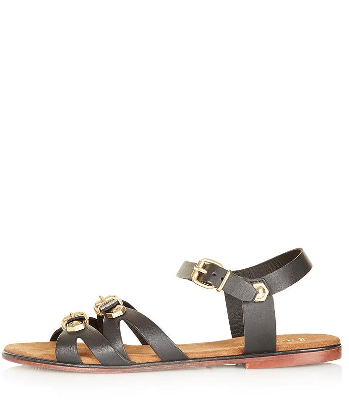 Topshop FAZE 2 Part Embellished Sandals