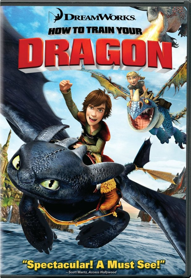 Dreamworks How to Train Your Dragon (Single-Disc)