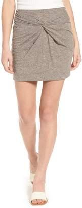 BP Knot Front Skirt