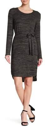 14TH PLACE Long Sleeve Hi-Lo Knit Dress