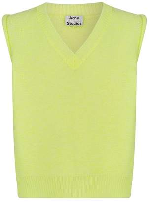 Acne Studios Neon Knitted Vest