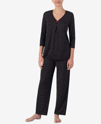 Ellen Tracy Printed Pajama Top