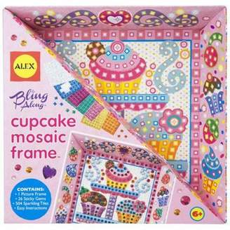 Alex Toys Bling Along Cupcake Mosaic Frame Craft Kit