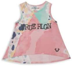 True Religion Girl's Watercolor Tank