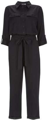 Mint Velvet Navy Utility Jumpsuit