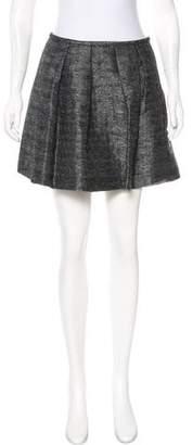 Miu Miu Metallic Mini Skirt
