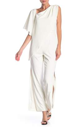Alexia Admor Short Flare Sleeve Jumpsuit