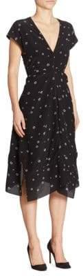 Proenza Schouler Open Back Silk Dress