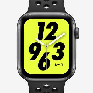 Nike Apple Watch Series 4 (GPS + Cellular) with Sport Band 40mm Sport Watch