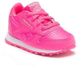 Reebok Classic Leather Girl Squad Sneaker (Baby & Toddler)