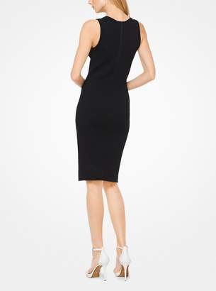 MICHAEL Michael Kors Embossed Knit Dress