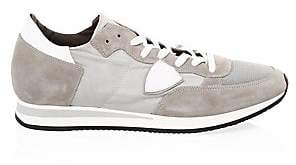 Philippe Model Men's Suede Lace-Up Sneakers
