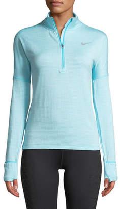 Nike Therma Sphere Element Long-Sleeve Half-Zip Running Top
