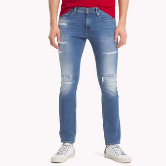 Tommy Hilfiger Mid Rise Slim Fit Jean