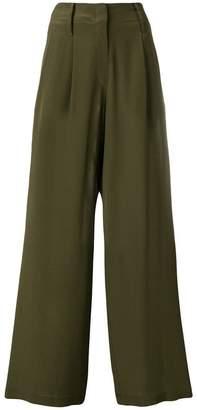 Odeeh wide leg trousers