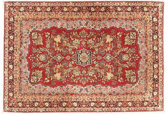 """One Kings Lane Vintage Persian Sarouk Rug - 6'7"""" x 9'6"""""""