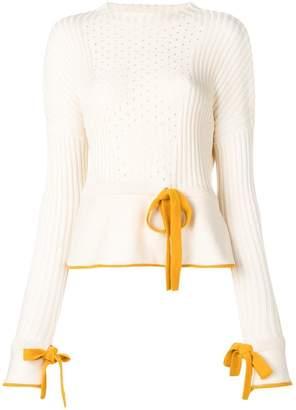 Sonia Rykiel perforated knit jumper