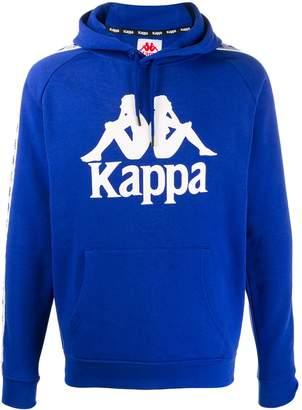 logo drawstring hoodie