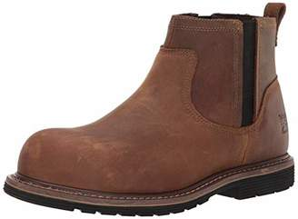 Timberland Men's Millworks Chelsea Composite Safety Toe Industrial Boot