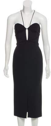 Nicholas Bandage Plunge Dress w/ Tags