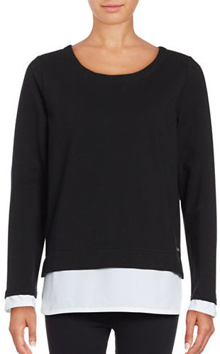 Marc New York Performance Mock Layer Pullover