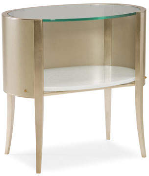 Caracole Millet Oval Nightstand