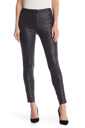 Do & Be Do + Be Metallic Faux Suede Jeggings